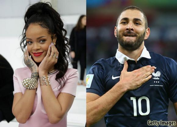 Rihanna and French Beau Karim Benzema Relationship Is ...